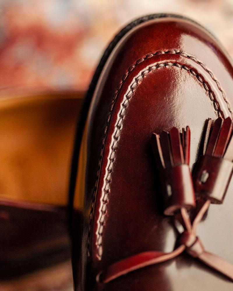 西班牙直送|Berwick1707 Premium Grade|8491 Cordovan Tassel Loafers・Color 8