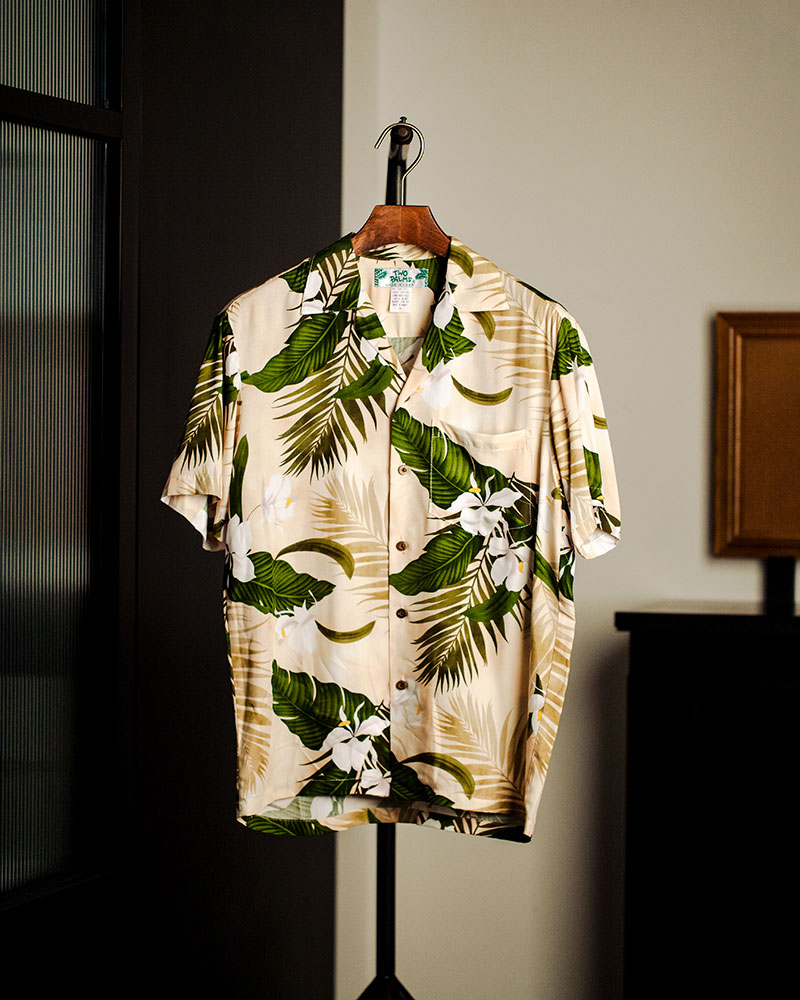 Two Palms|Ginger Aloha Shirt