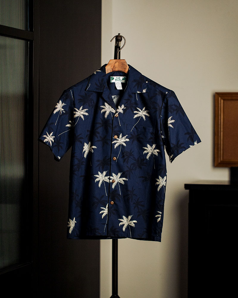 Pre-order|Two Palms|New Palm Aloha Shirt