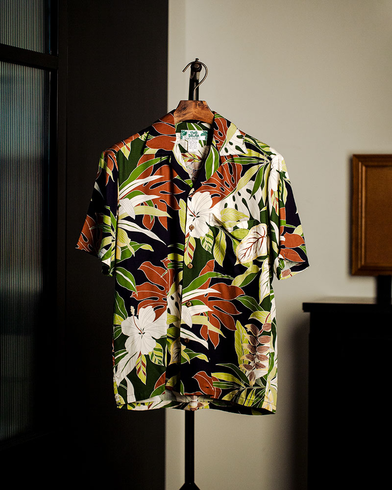 Two Palms|Tropical Forest Aloha Shirt