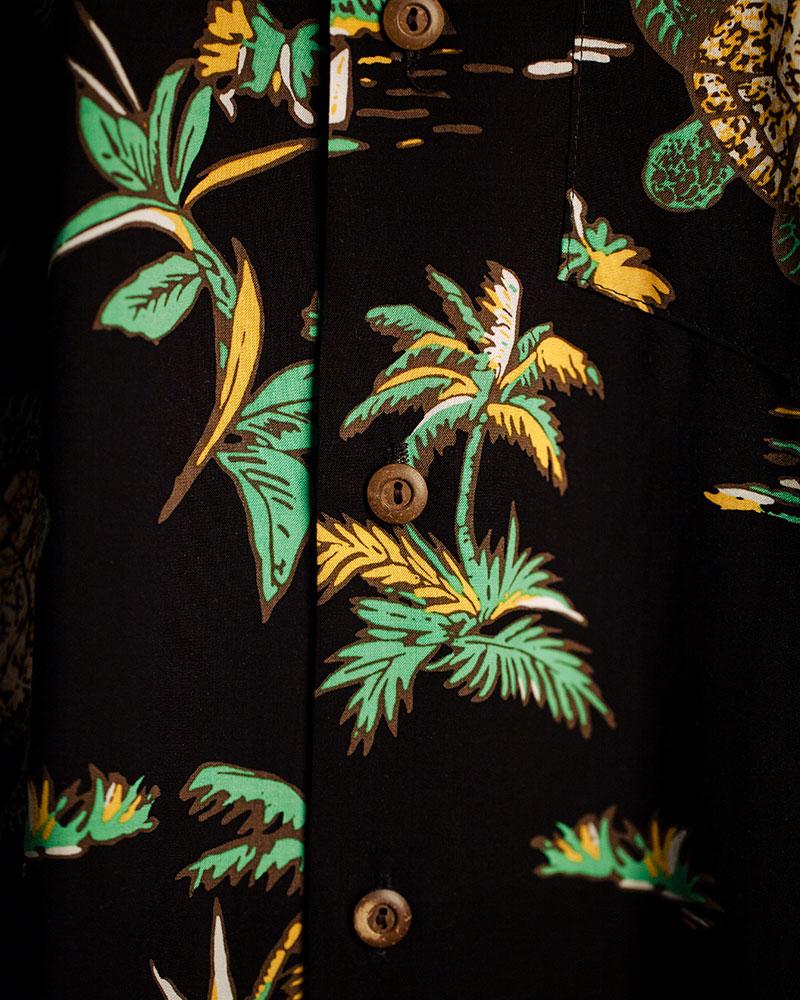 Two Palms|Turtles Aloha Shirt