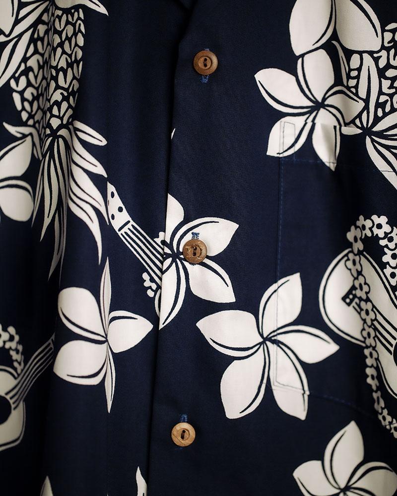 Two Palms|Ukulele Aloha Shirt