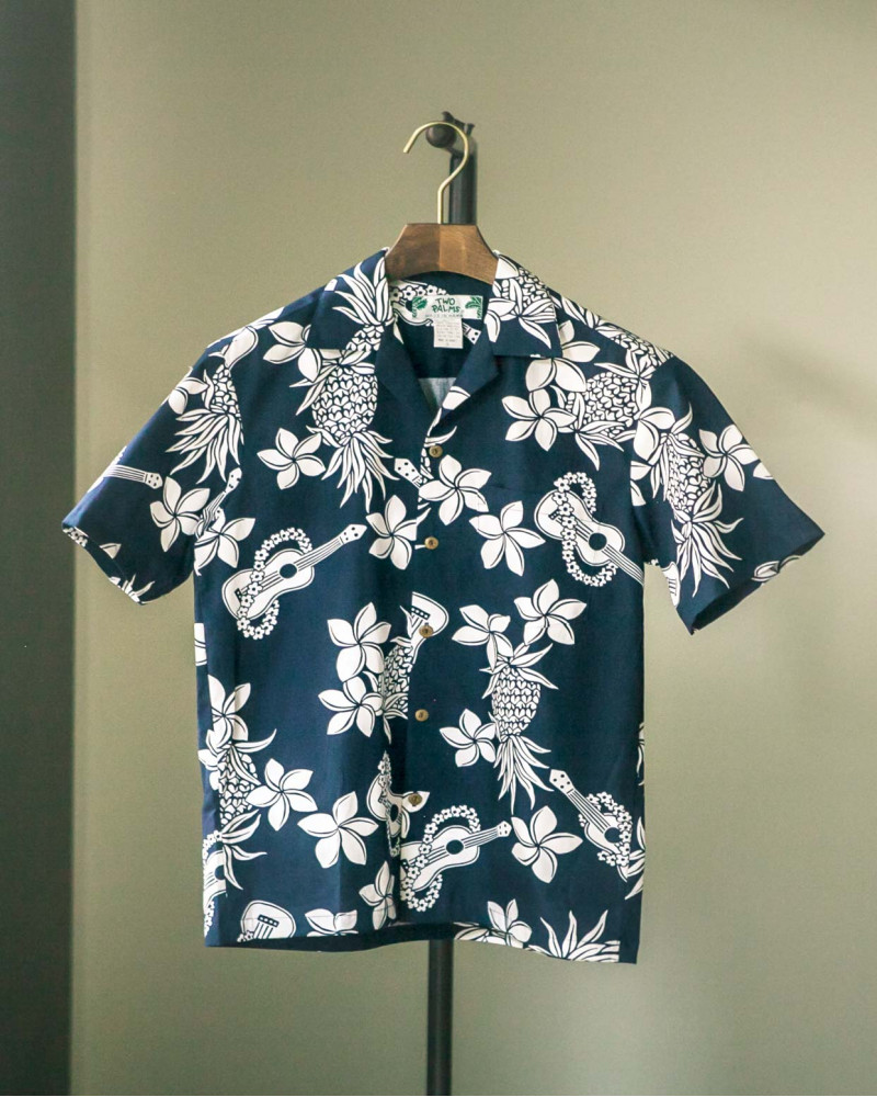 Two Palms|Ukulele Aloha Shirt