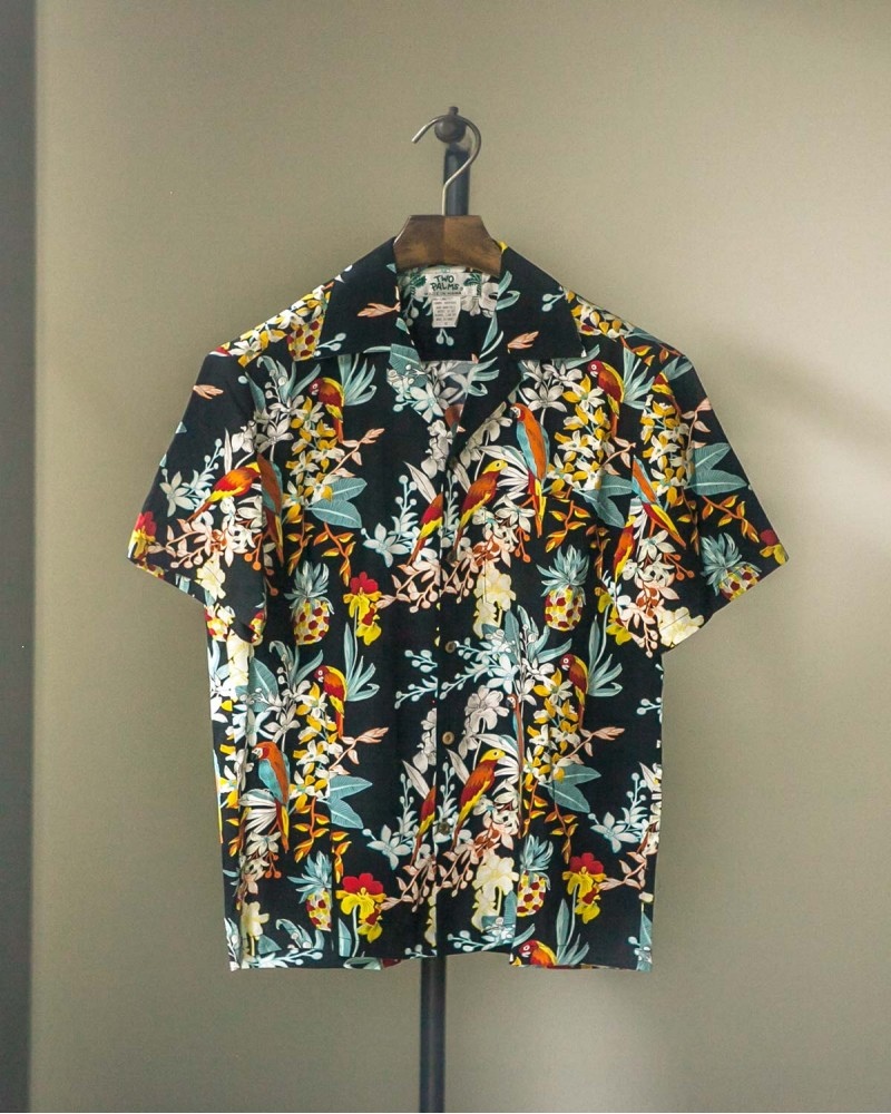 Two Palms|Parrots Aloha Shirt
