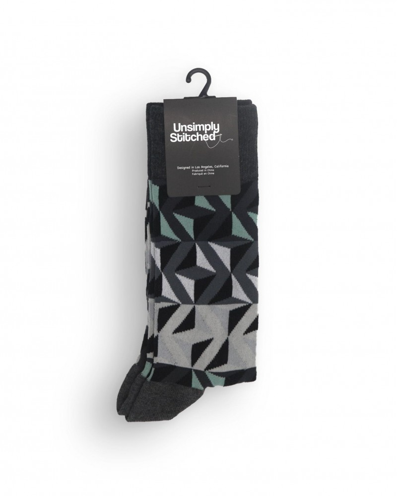 Unsimply Stitched|Magic Triangles Socks