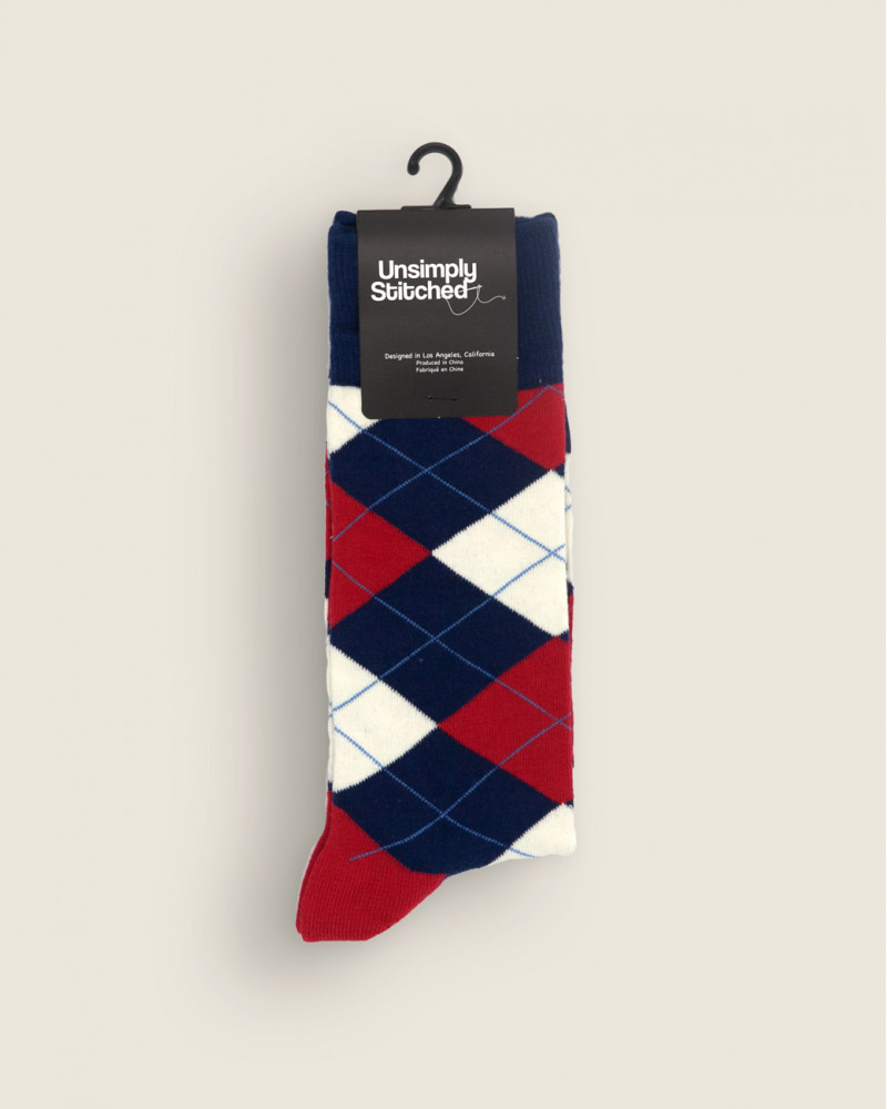 Unsimply Stitched|Traditional Argyle Socks