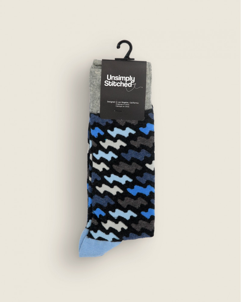 Unsimply Stitched|Comic Wave Socks