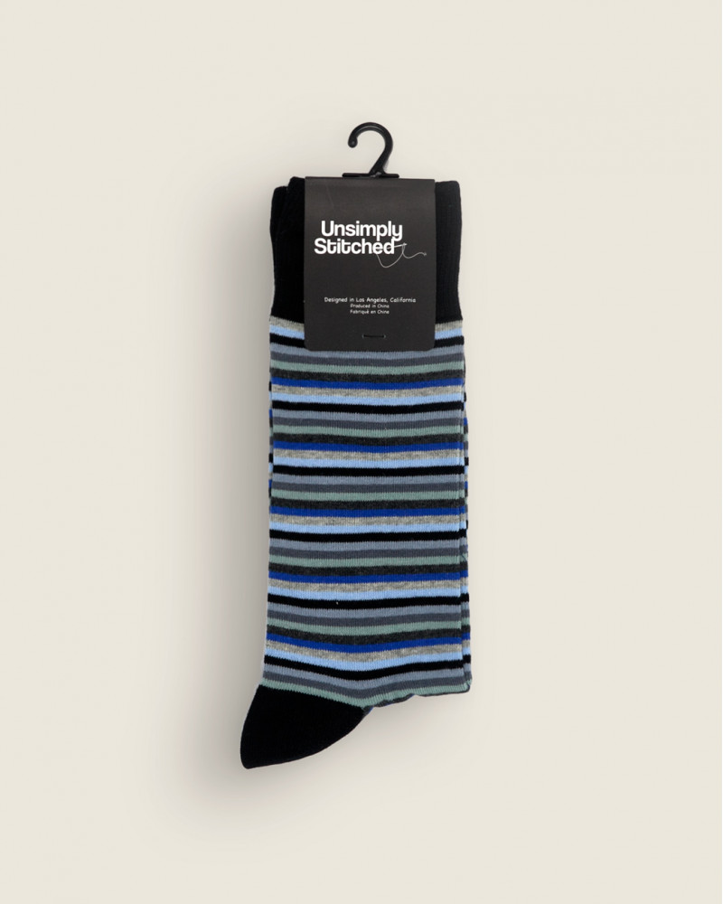 Unsimply Stitched|5mm Stripe Socks