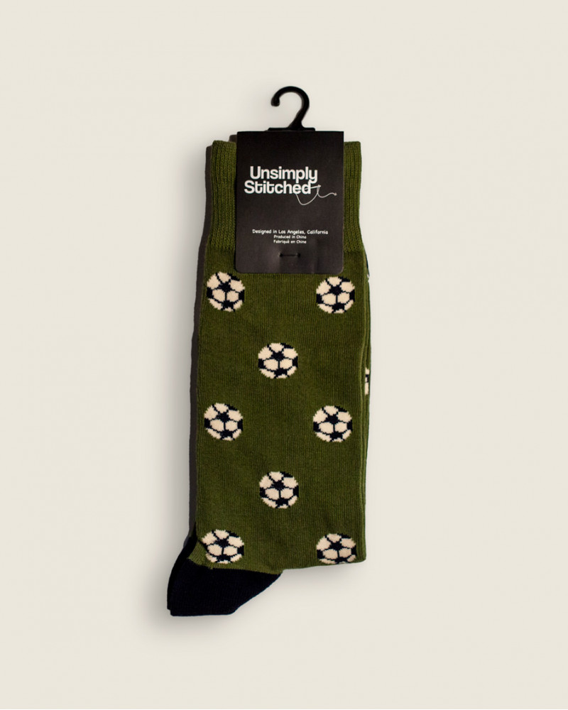 Unsimply Stitched|Soccer Ball Socks