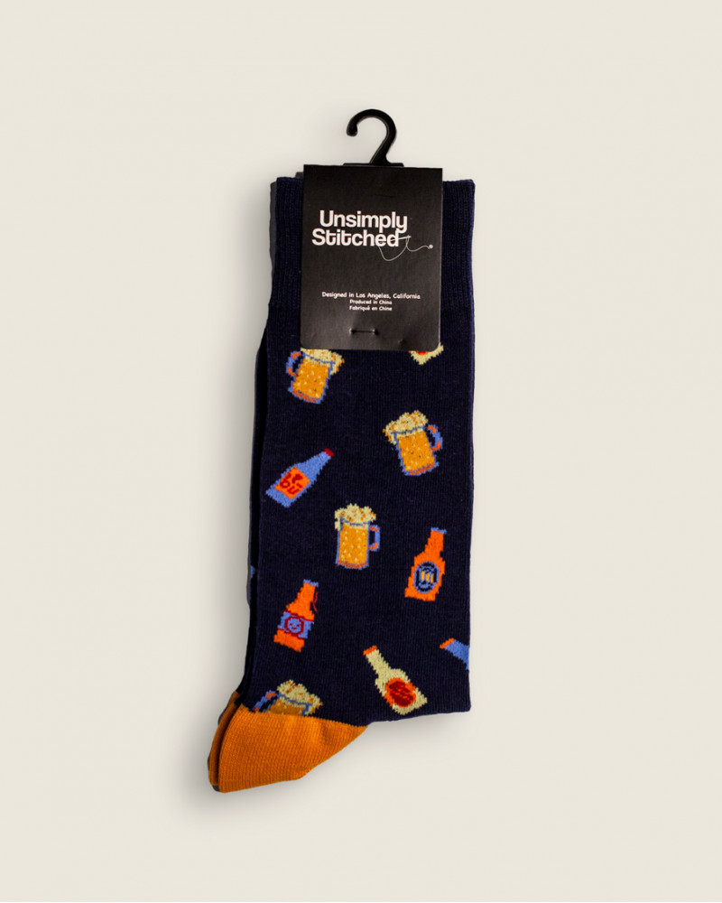 Unsimply Stitched|Beer Socks