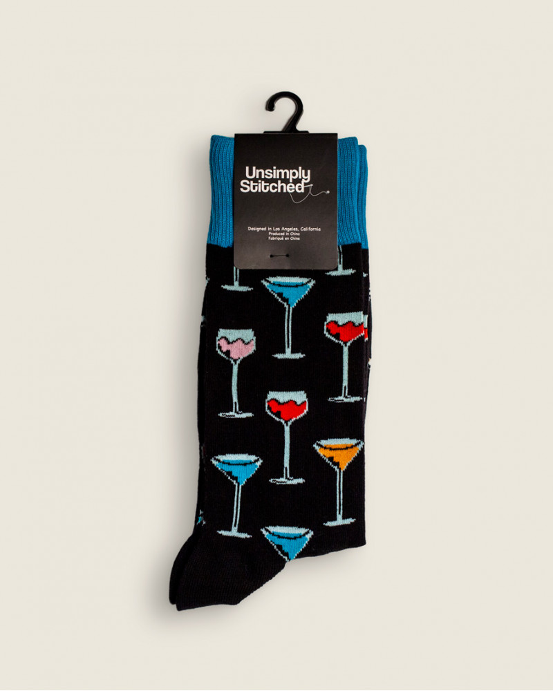 Unsimply Stitched|Wine Time Socks