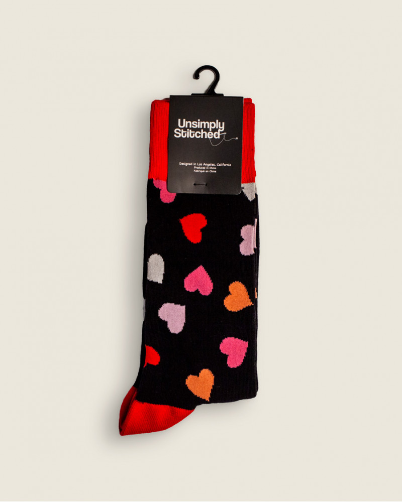 Unsimply Stitched|Hearts Socks