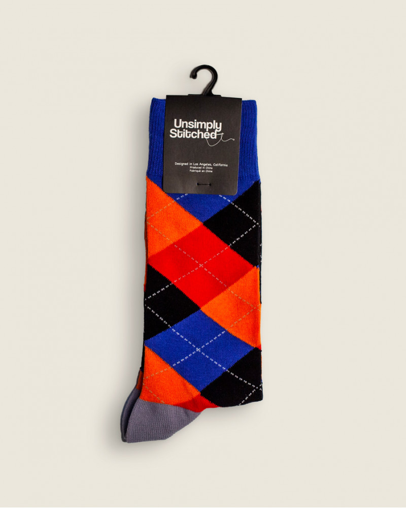 Unsimply Stitched|Argyle Socks
