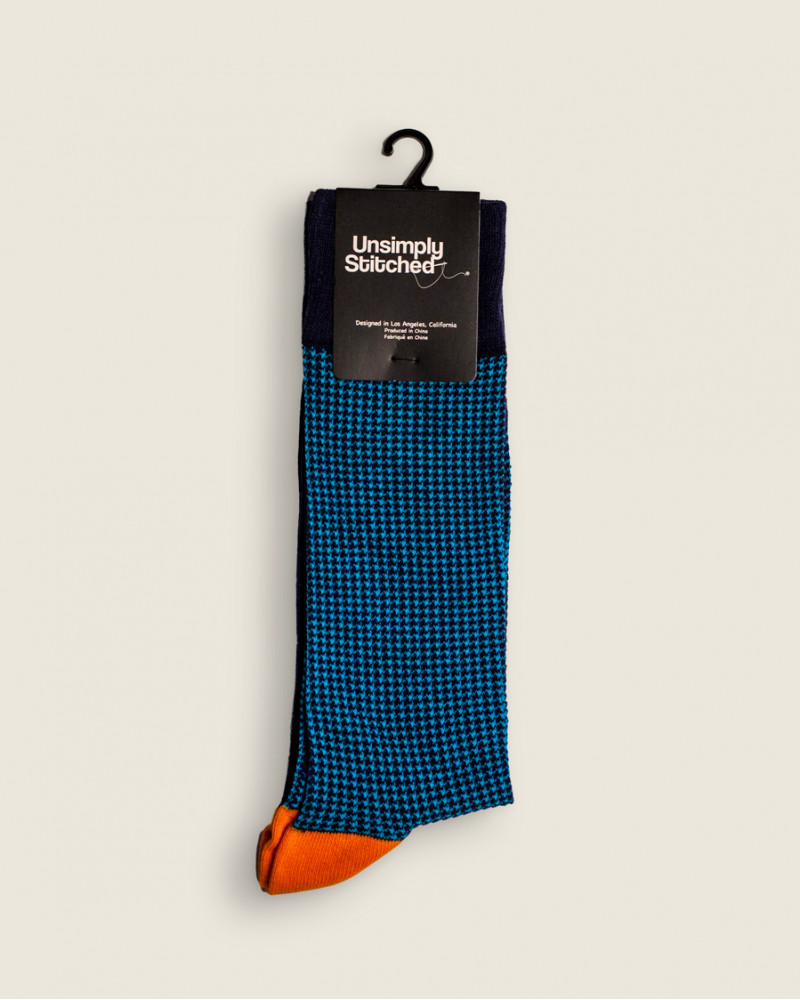 Unsimply Stitched|Houndstooth Socks
