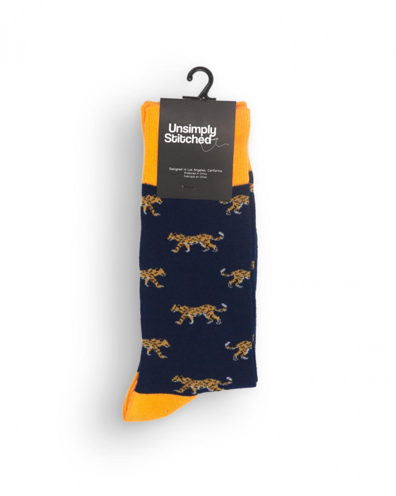 Unsimply Stitched|Cheetah Socks