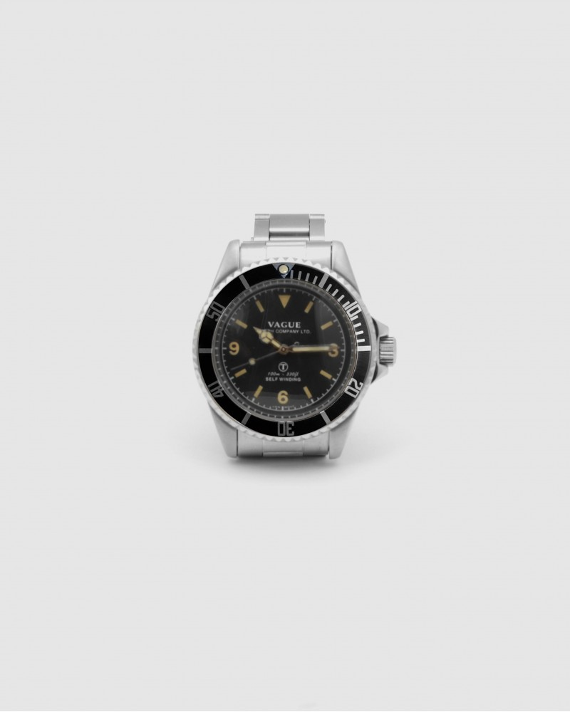 VAGUE WATCH Co. x HOAX Burford MilSub・Stainless Steel Bracelet