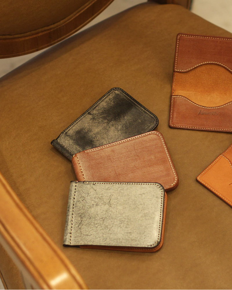 NIGHTFLY|Short Leather Wallet