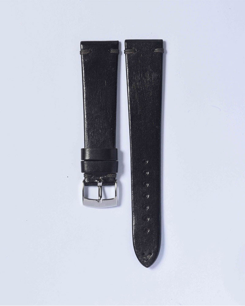 ANZIANO|Divenza Grigio 20mm Vintage Watch Leather Strap