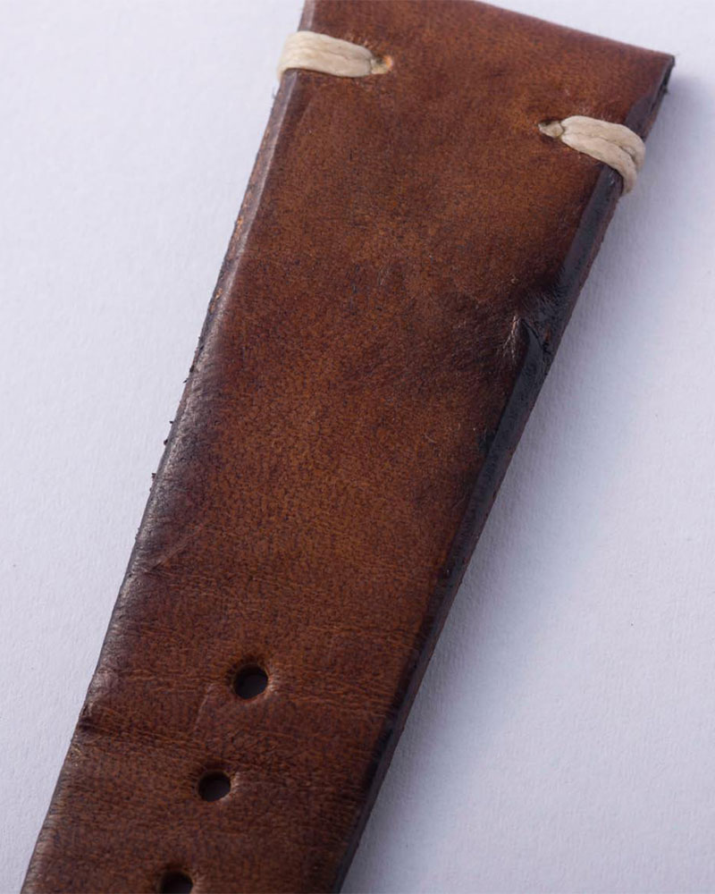ANZIANO Nuvoso Caramello 20mm Vintage Watch Leather Strap