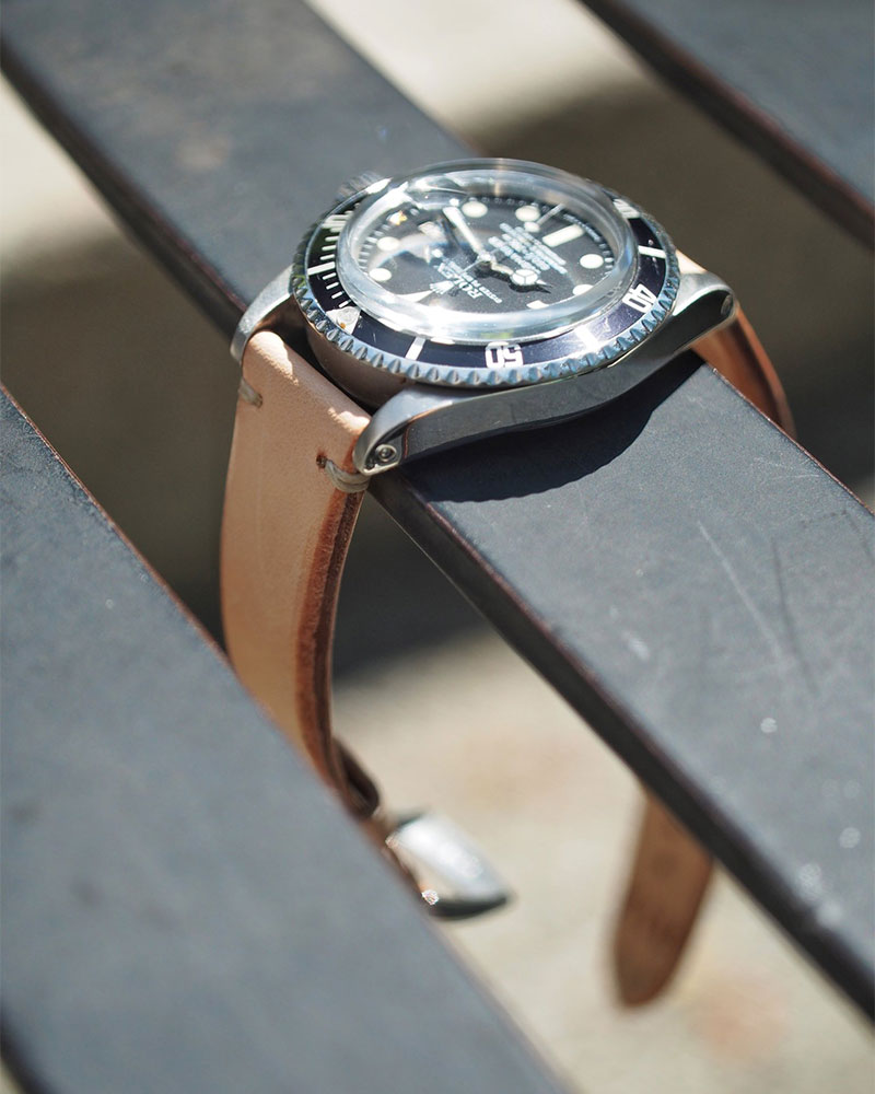 ANZIANO|Vachetta Original 20mm Watch Strap