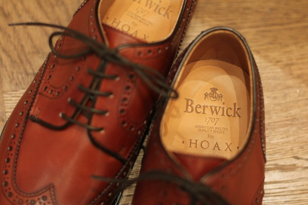 《MenClub Feature》【別注商務鞋楦】Berwick 1707 for HOAX Derby Shoes 西班牙手造鞋
