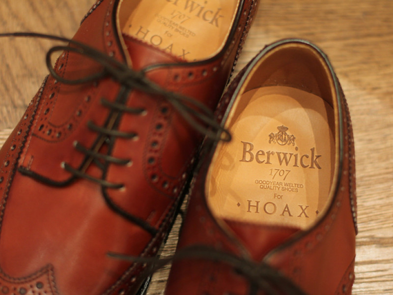 MenClub Feature|【別注商務鞋楦】Berwick 1707 for HOAX Derby Shoes 西班牙手造鞋