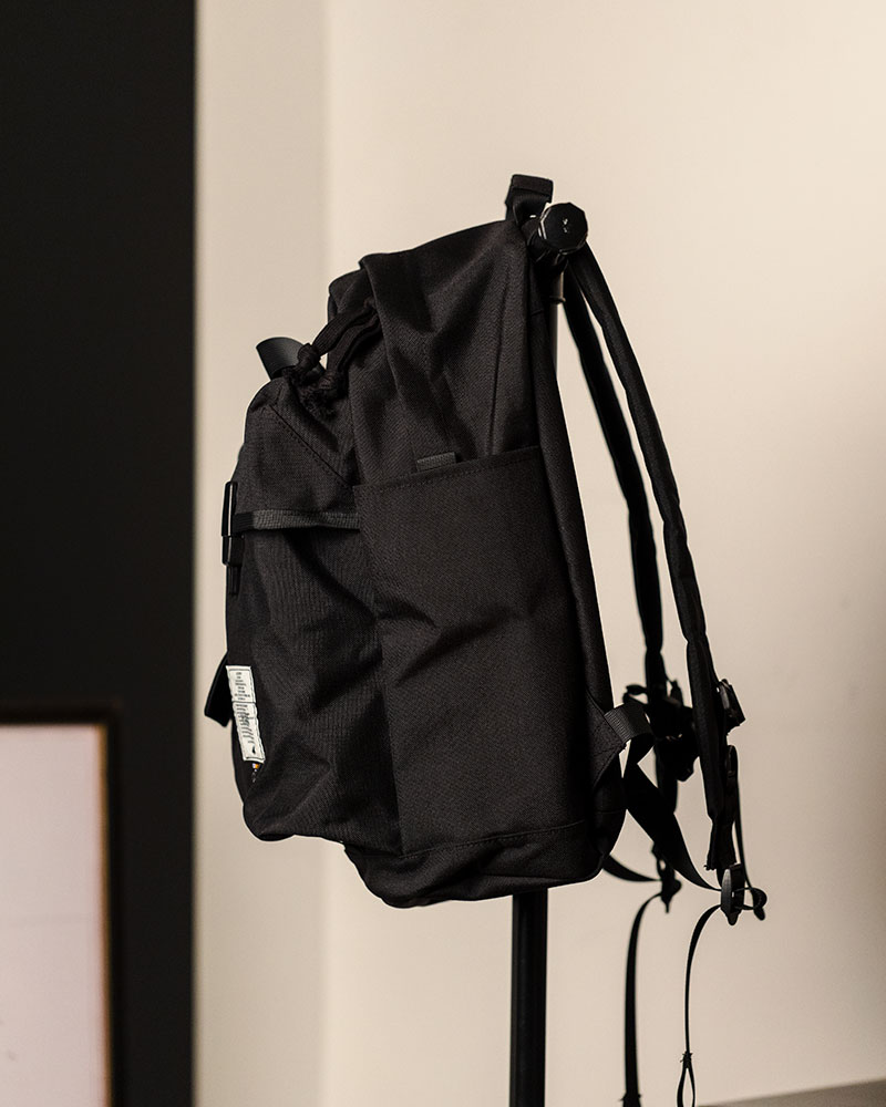 Club Stubborn x HOAX Canadian Combat Backpack.Black