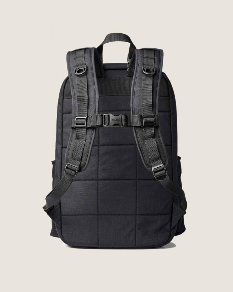 Filson Ripstop Nylon Backpack.Black