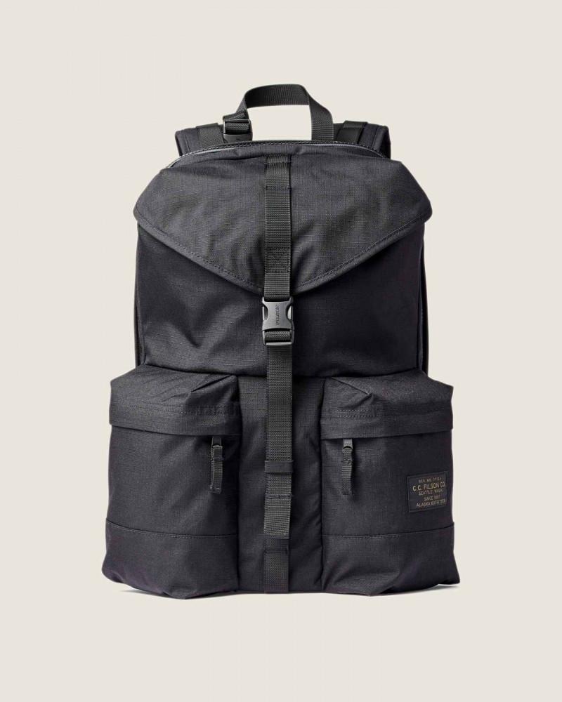 Filson|Ripstop Nylon Backpack.Black