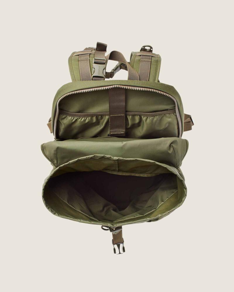 Filson Ripstop Nylon Backpack.Surplus Green