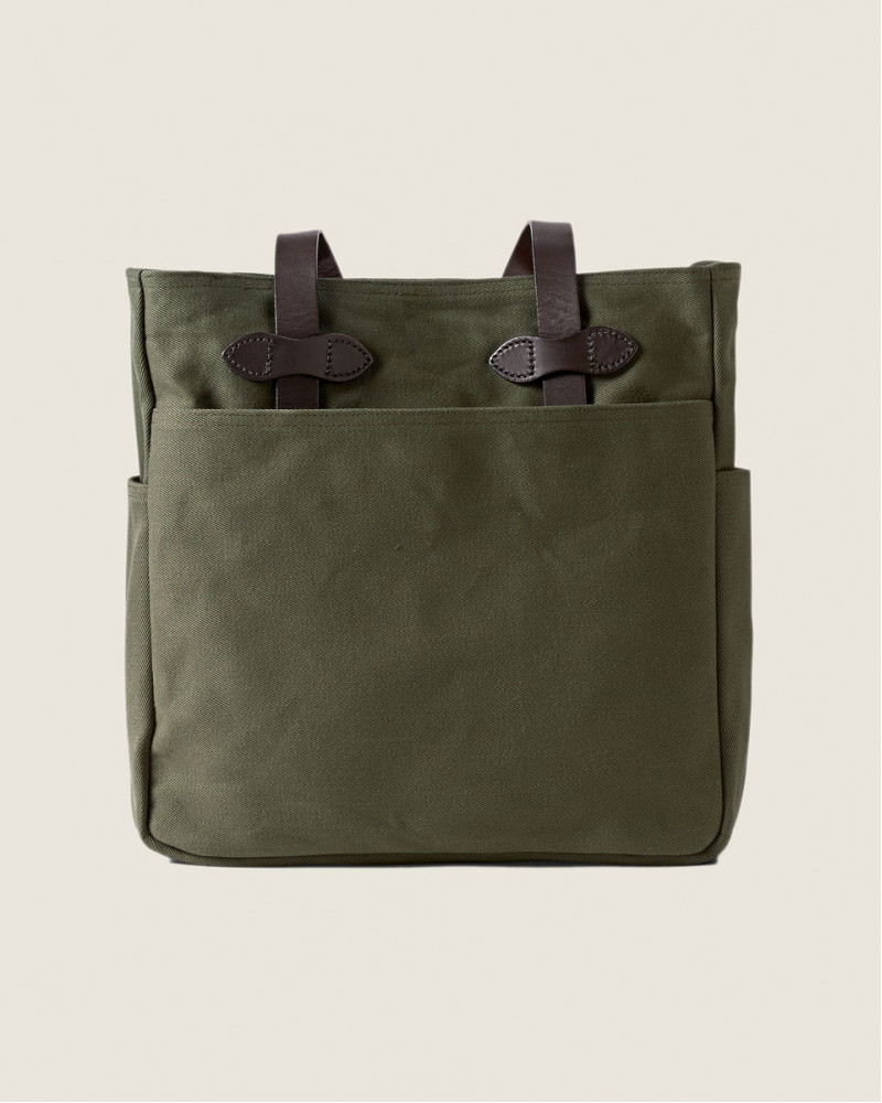 Filson|Rugged Twill Tote Bag.Otter Green