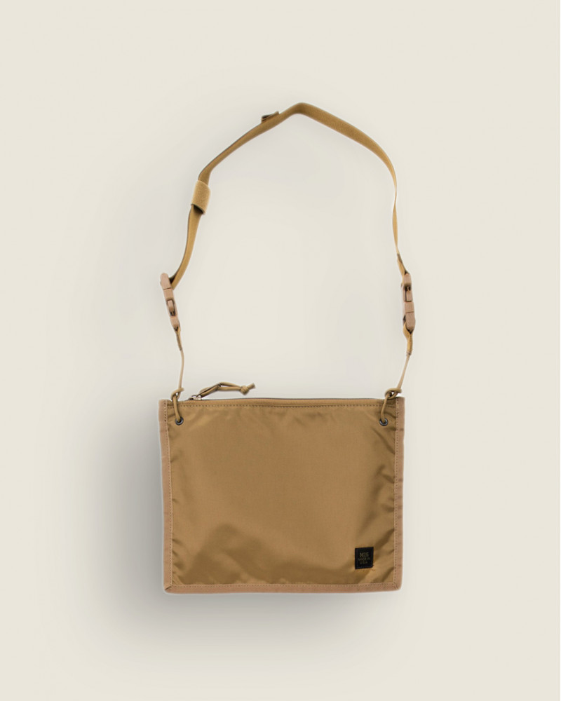 MIS Calif|2 Way Pouch.Coyote Brown