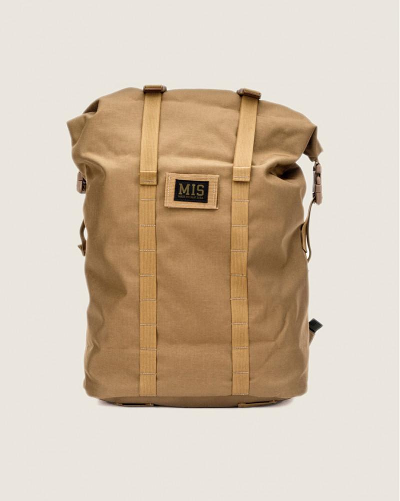 MIS Calif|Roll Up Backpack.Coyote Brown