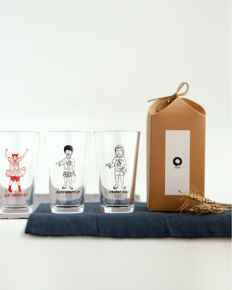 Nook|Artwork Pint Glasses