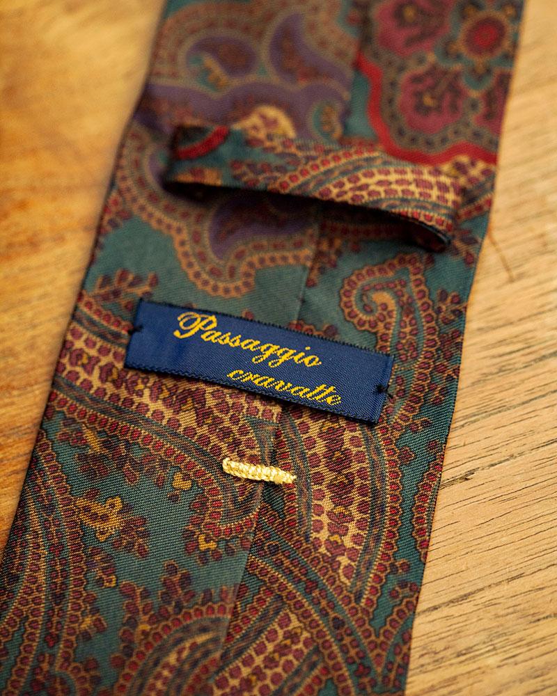 Passaggio Cravatte|Handmade Vintage Tie #1149
