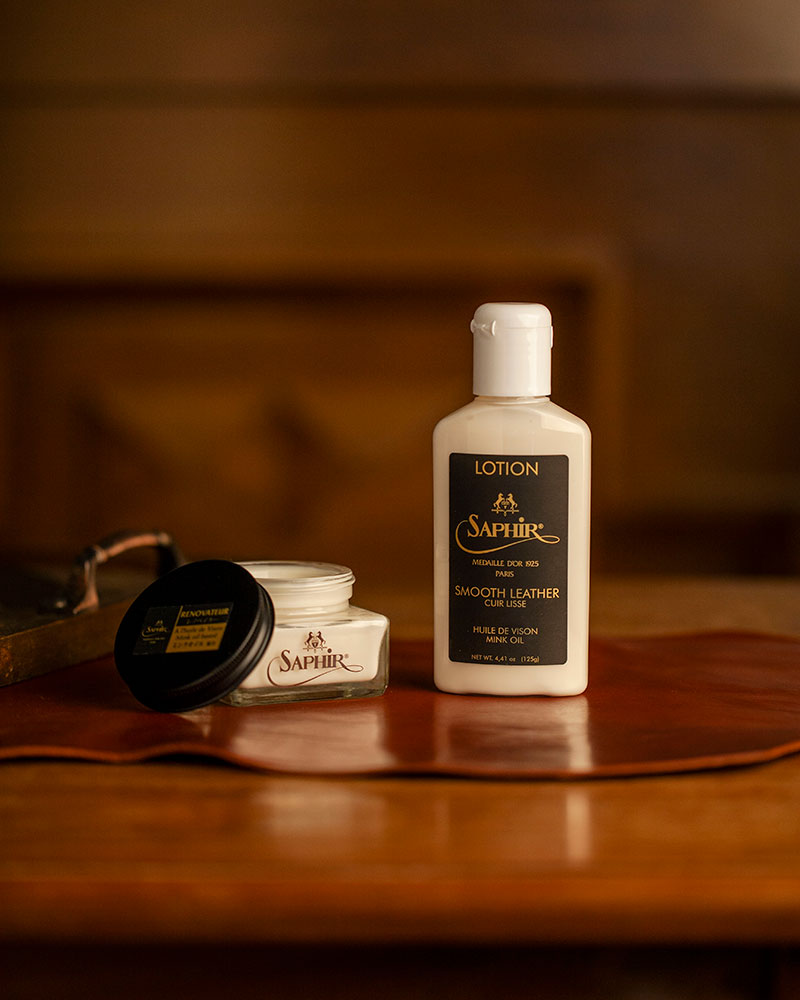 Saphir Médaille d'Or|Smooth Leather Lotion