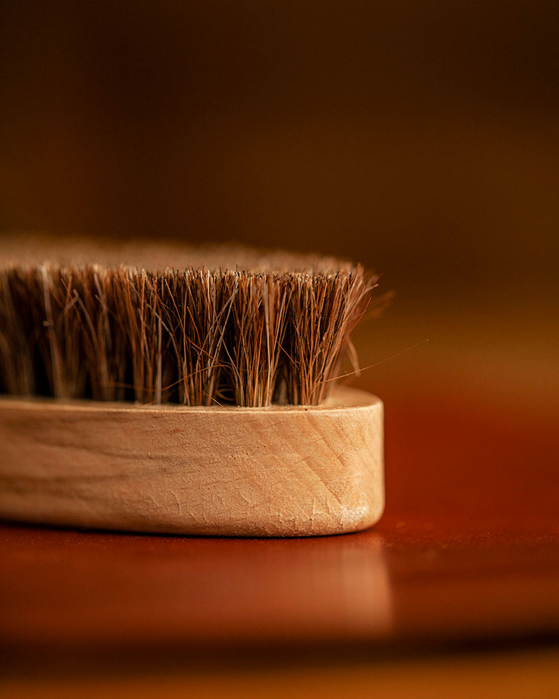 Saphir|Oval Horse Hair Brush