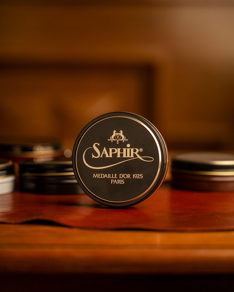 Saphir Médaille d'Or|Pate De Luxe Wax Polish 100ml