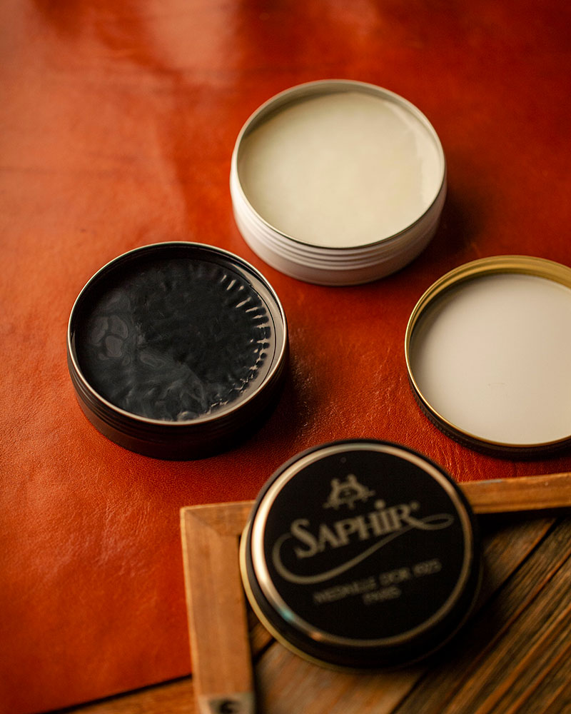 Saphir Médaille d'Or|Pate De Luxe Wax Polish 50ml