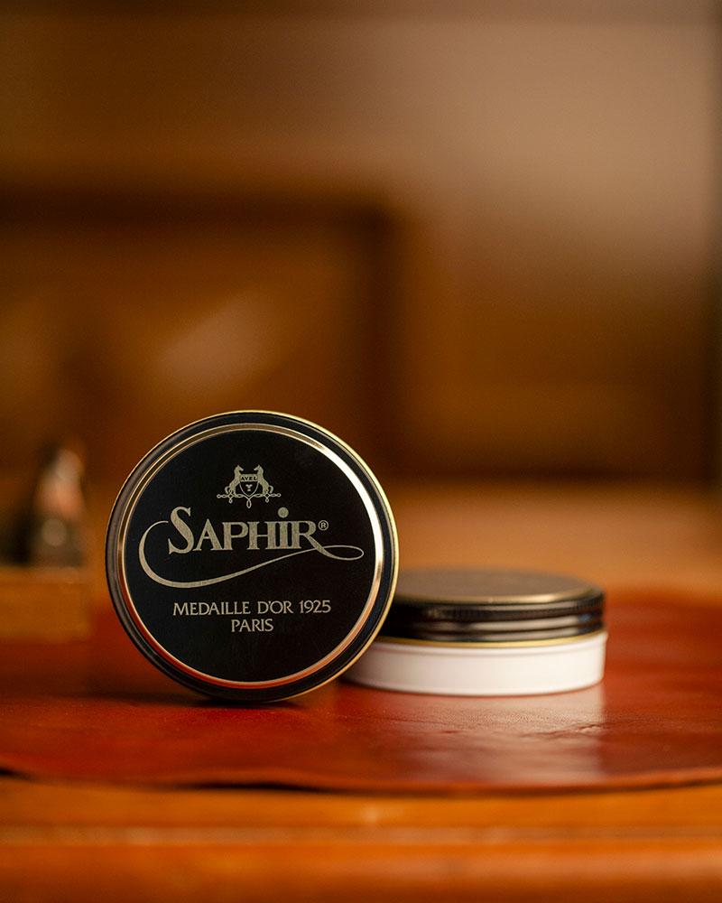 Saphir Médaille d'Or|Pate De Luxe Wax Polish 50ml