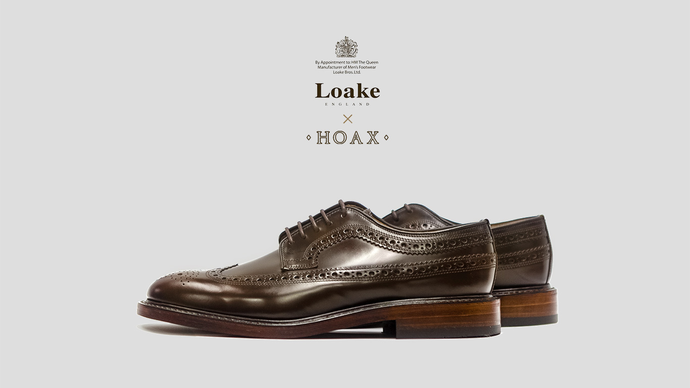 Loake MTO for HOAX Long Wing Brogues
