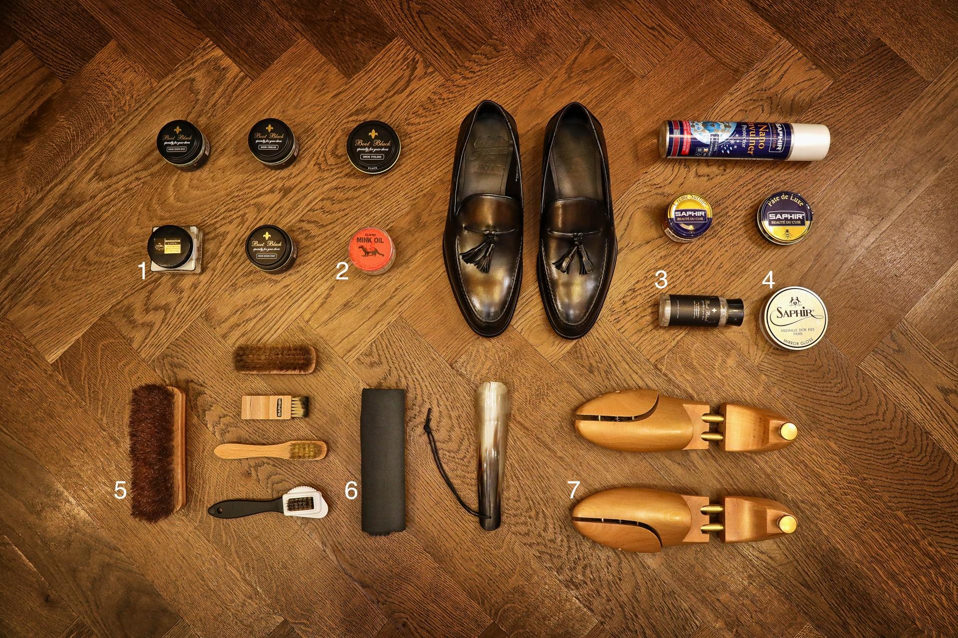 皮鞋保養工具