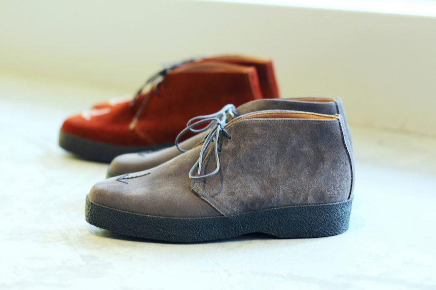 Broad Arrow Playboy Chukka Boots - MTO Sanders for HOAX