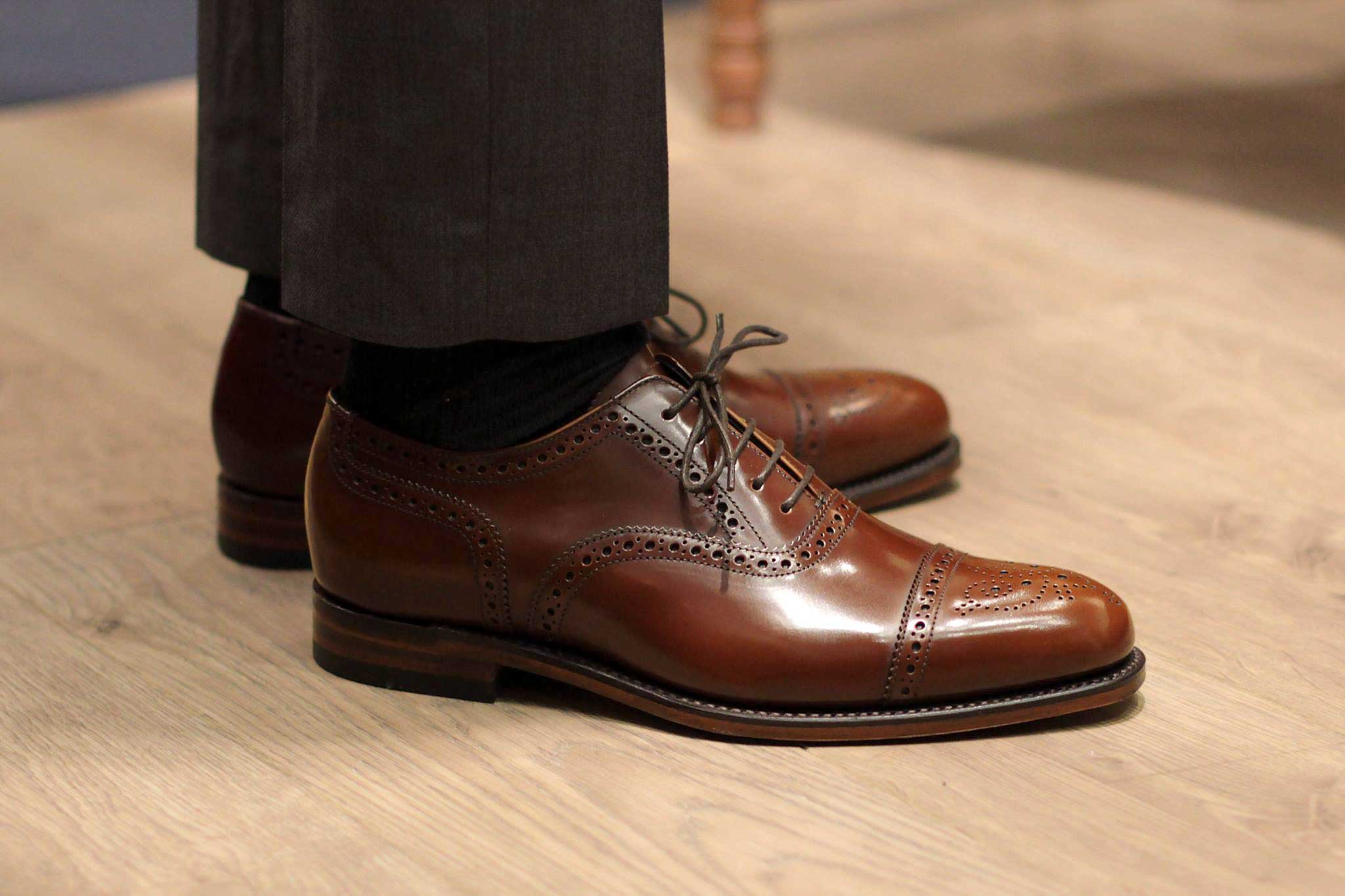 Loake Semi Brogues